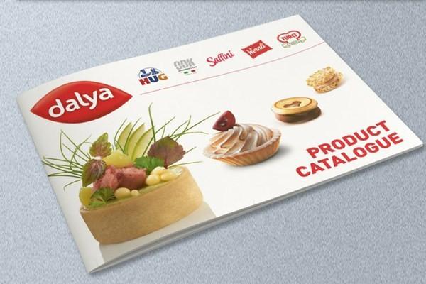 Thiết kế catalogue thực phẩm bắt mắt