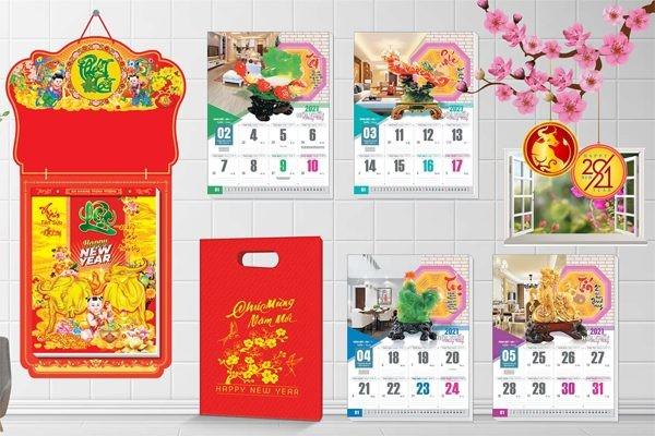 in lịch bloc 52 tuần Tân Sửu