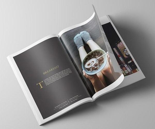 Thiết kế catalogue thực phẩm
